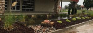 Oklahoma Landscape Architects Rain Garden